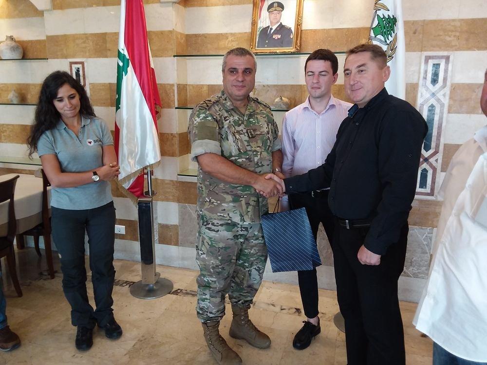 Військові Центру розмінування відвідали Ліванський центр з протимінної діяльності, фото-3, Фото: Центр розмінування