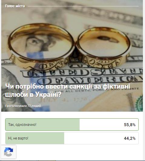 Чи потрібно вводити санкції за фіктивні шлюби в Україні?, фото-1