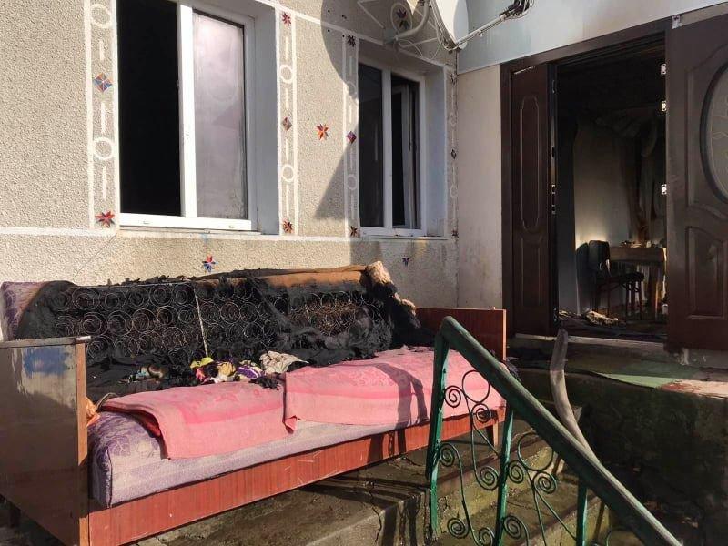 """У Великому Заліссі горів приватний будинок, фото-2, Фото: """"Служба порятунку 101 Кам'янець-Подільський"""""""