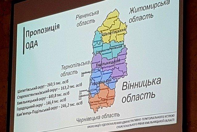У Хмельницькому обговорили повітовий поділ, фото-1, Фото: Кам'янець-Подільська міська рада