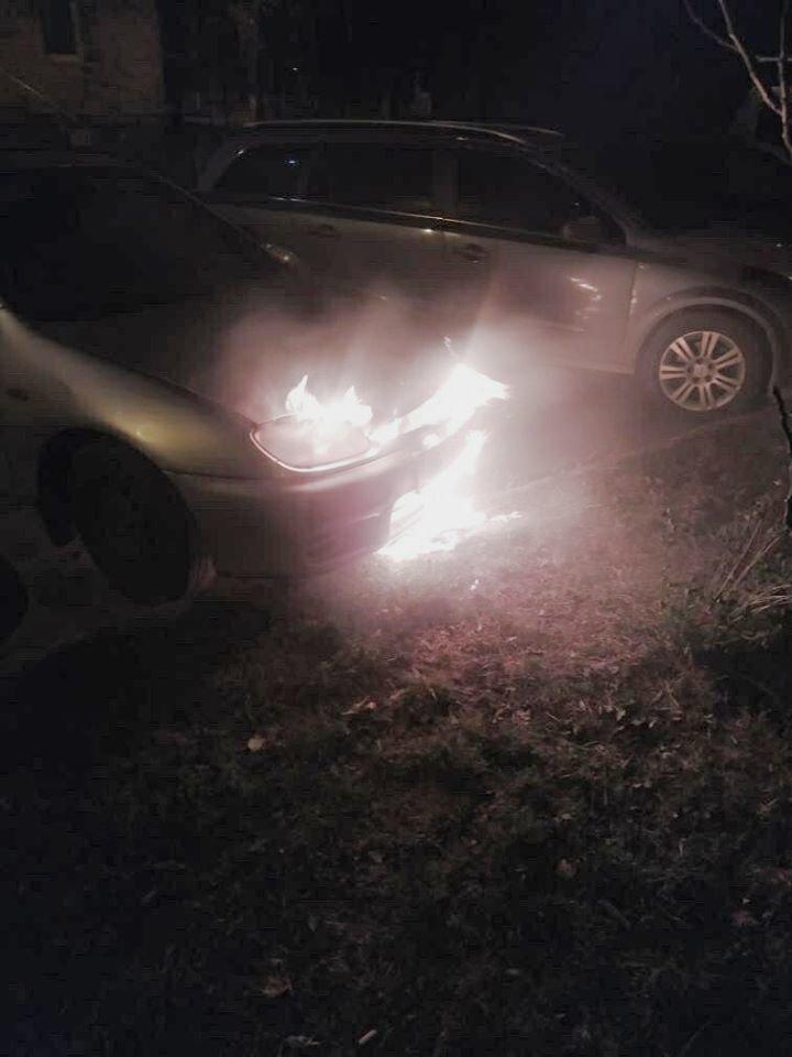"""У Кам'янці-Подільському згоріла """"Mazda323""""  , фото-3, Фото: """"Служба порятунку 101 Кам'янець-Подільський"""""""