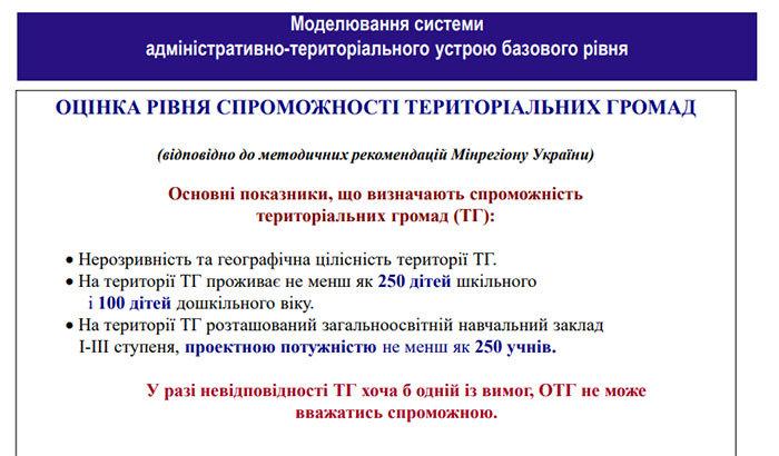 Територіальні громади Хмельниччини є не спроможними, - ОДА, фото-1