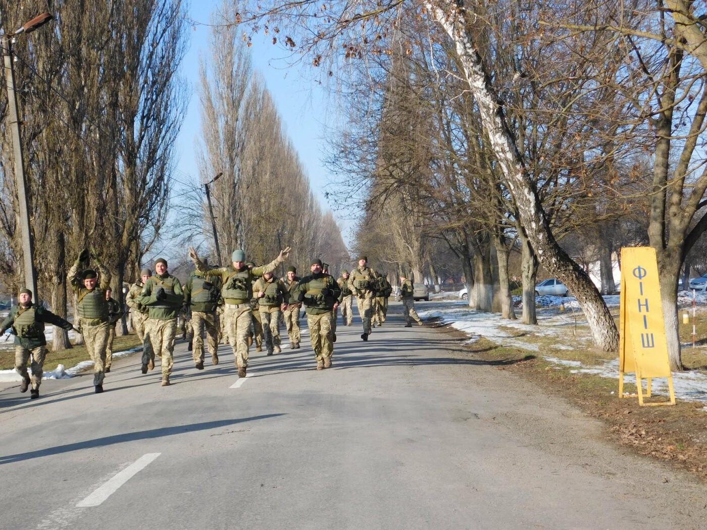 У Кам'янці відбувся 5-кілометровий марш-кидок зі штатною зброєю з нагоди річниці ЗСУ, фото-8, Фото: Центр розмінування