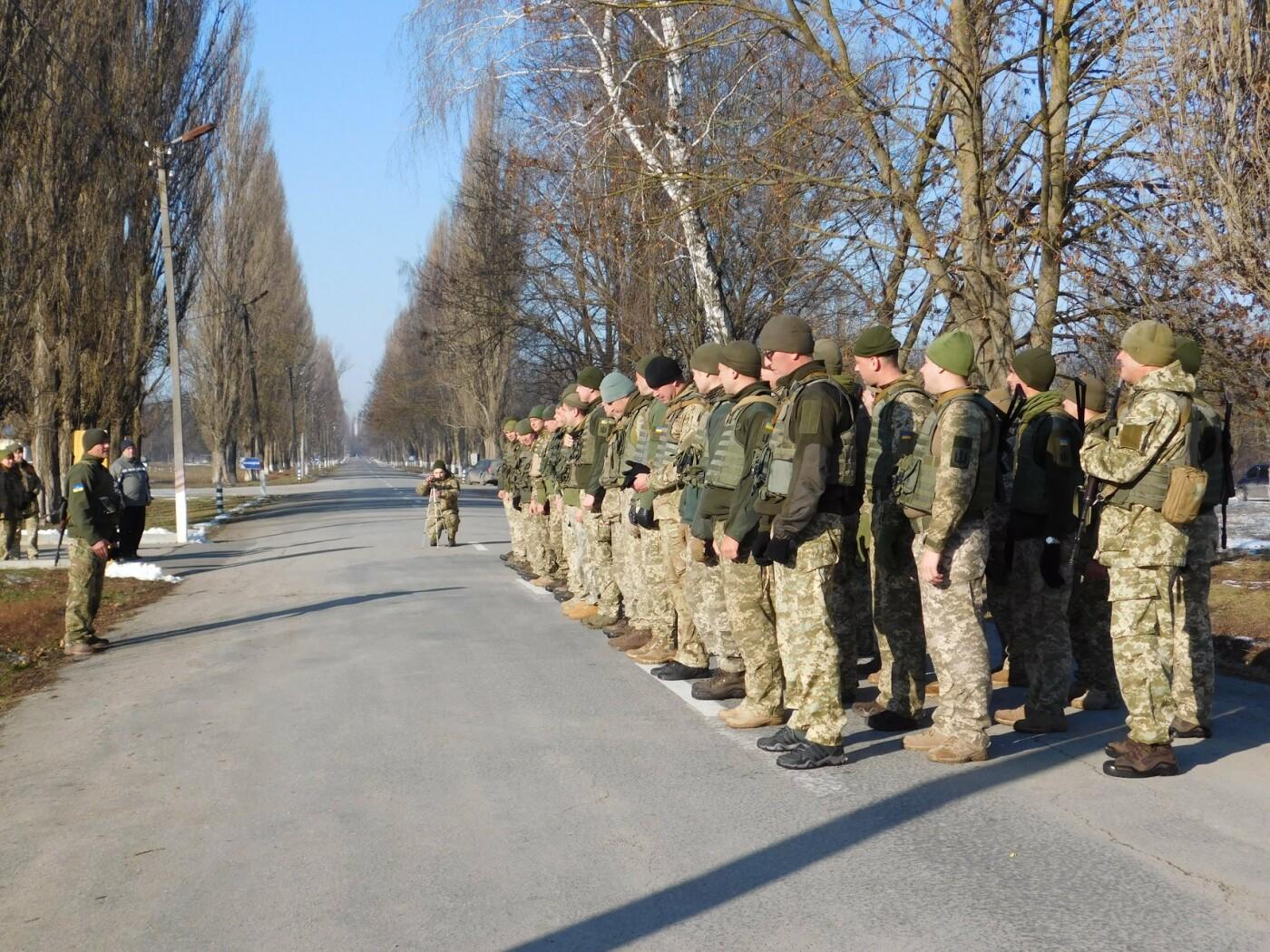 У Кам'янці відбувся 5-кілометровий марш-кидок зі штатною зброєю з нагоди річниці ЗСУ, фото-1, Фото: Центр розмінування