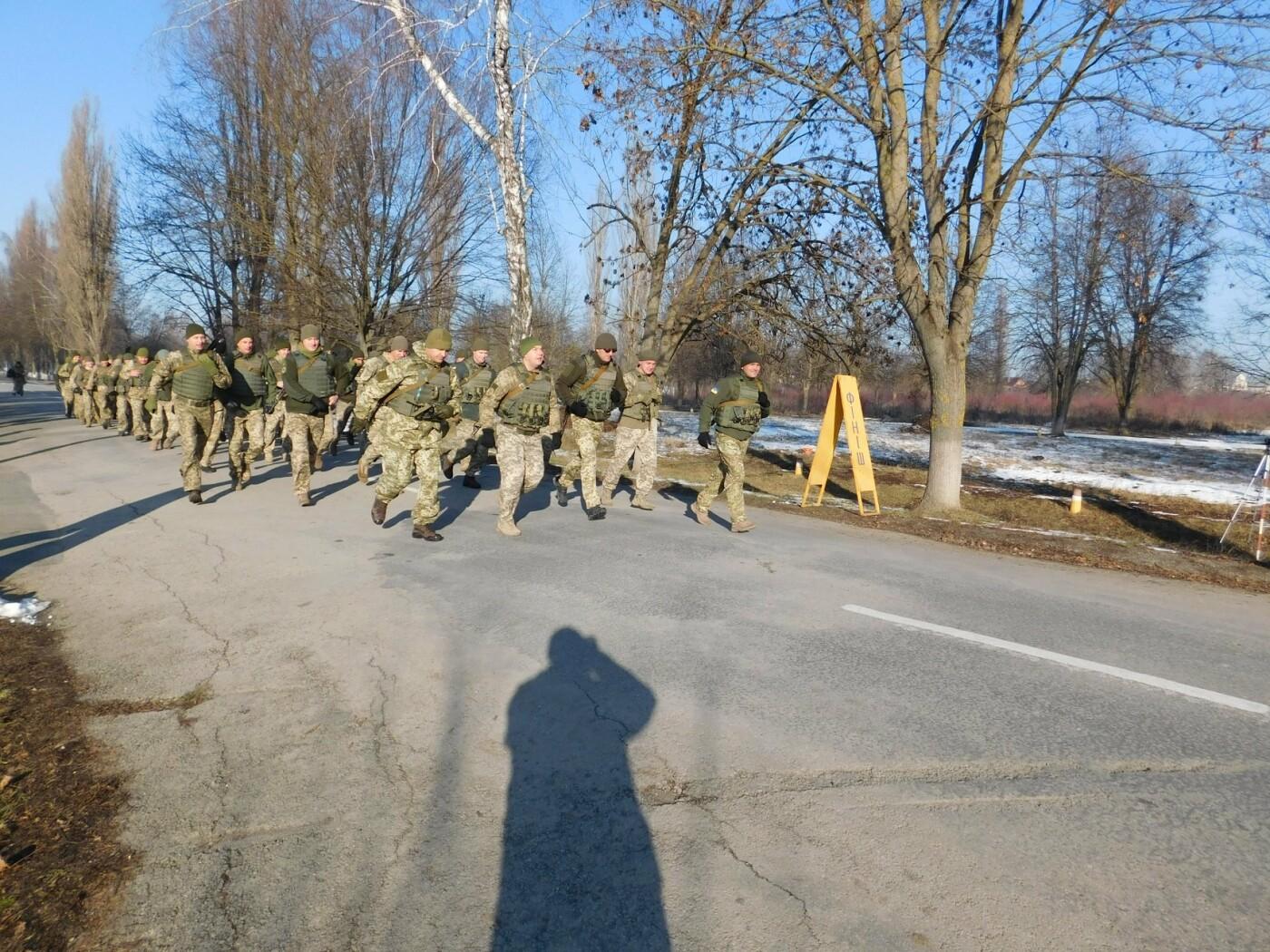 У Кам'янці відбувся 5-кілометровий марш-кидок зі штатною зброєю з нагоди річниці ЗСУ, фото-3, Фото: Центр розмінування