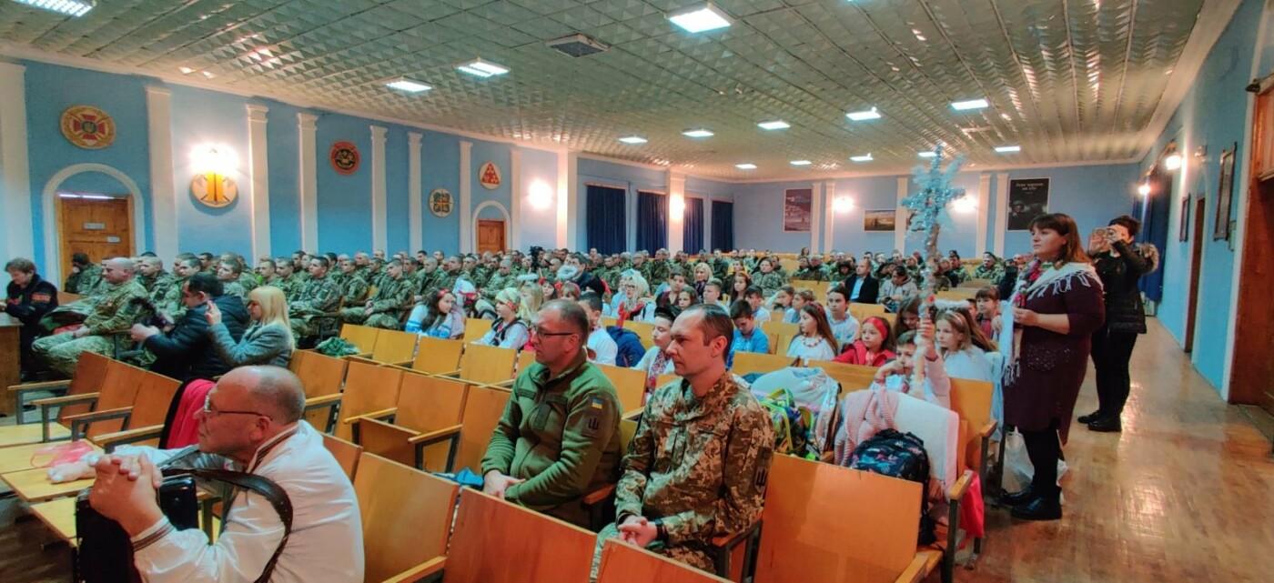Вихованці НВК №9 привітали військовослужбовців з прийдешніми святами, фото-5, Фото: Центр розмінування