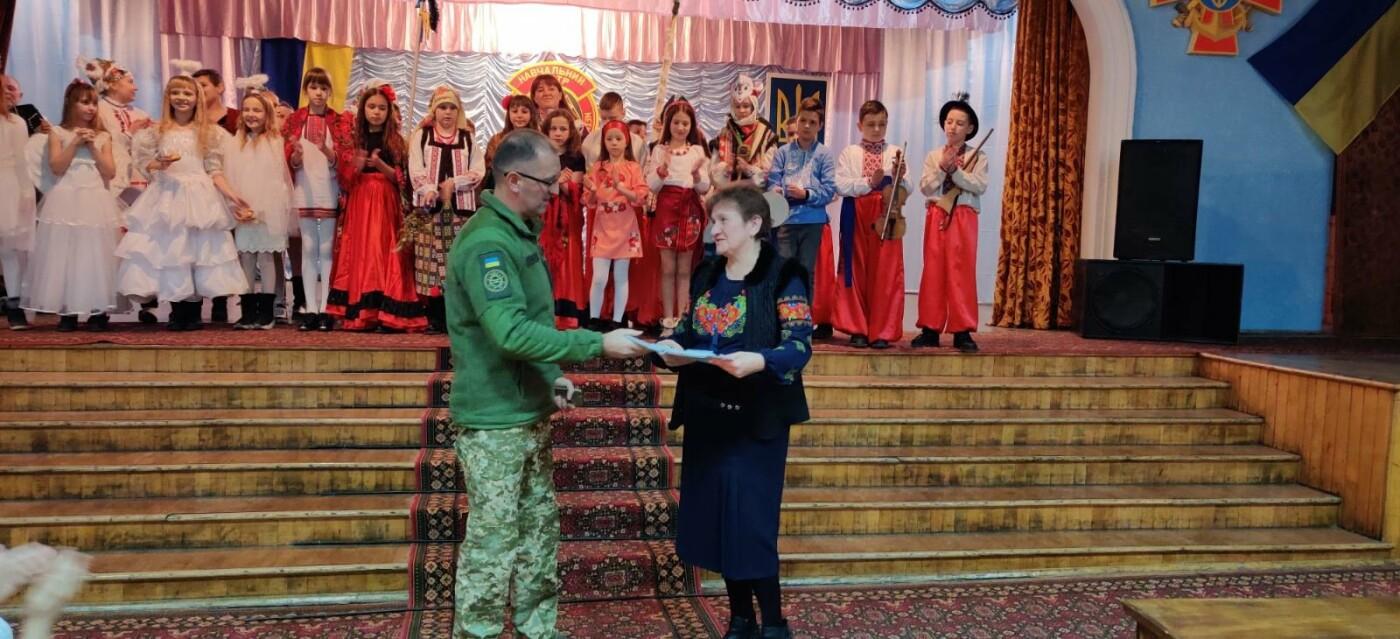 Вихованці НВК №9 привітали військовослужбовців з прийдешніми святами, фото-2, Фото: Центр розмінування