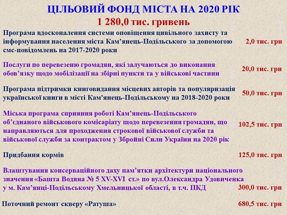 Проєкт міського бюджету-2020, фото-18