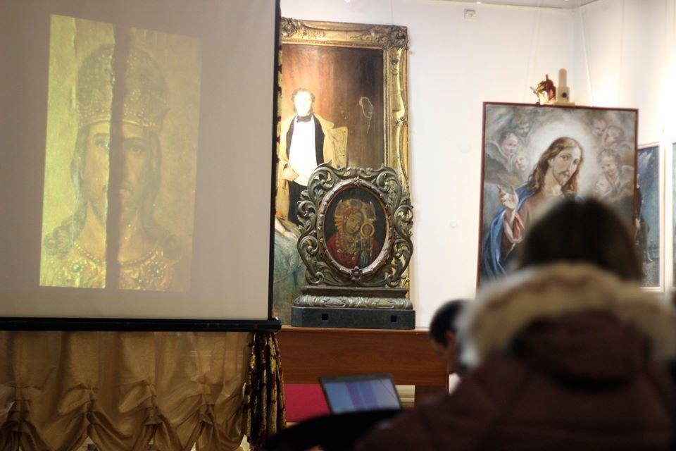 У Кам'янці студенти відреставрували 11 старовинних картин, фото-2, Фото: Кам'янець-Подільський державний історичний музей-заповідник