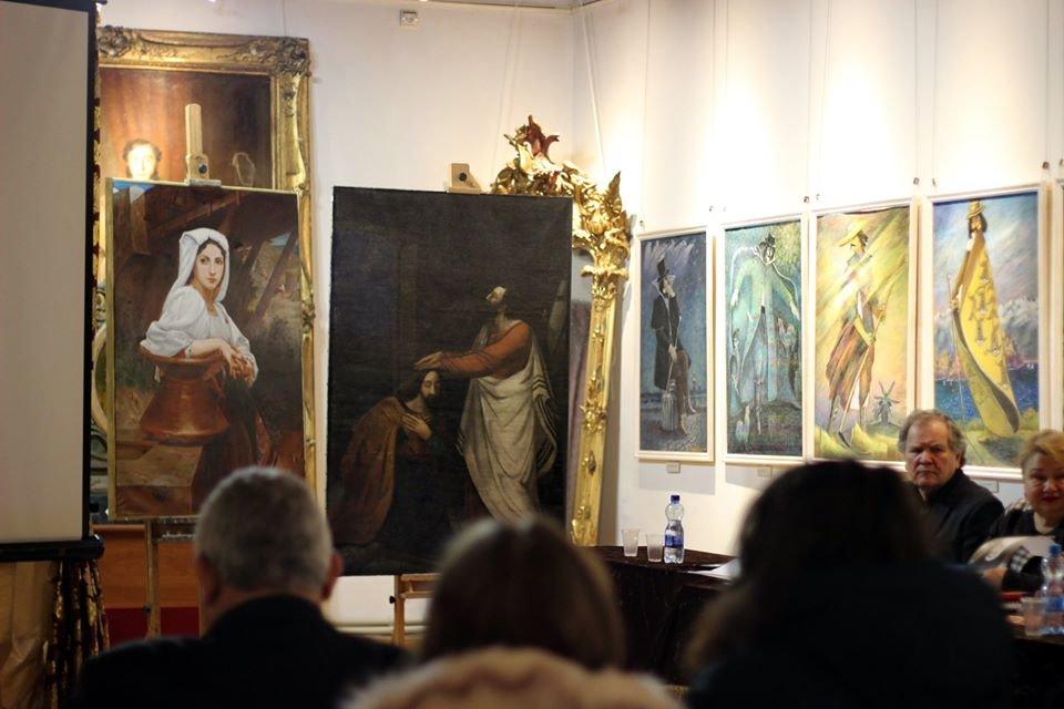 У Кам'янці студенти відреставрували 11 старовинних картин, фото-4, Фото: Кам'янець-Подільський державний історичний музей-заповідник
