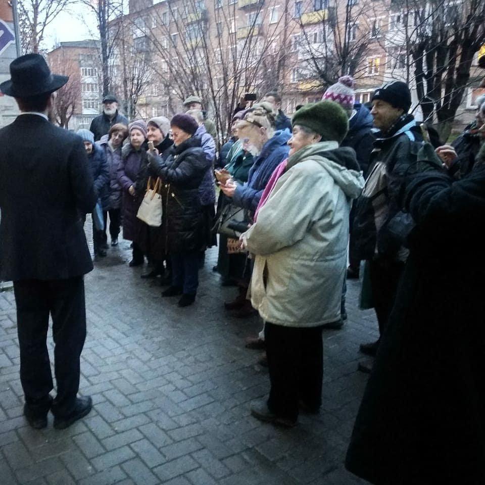 """У Кам'янці вперше публічно запалили ханукію , фото-1, Фото: інформаційна агенція """"Vdalo.info"""""""