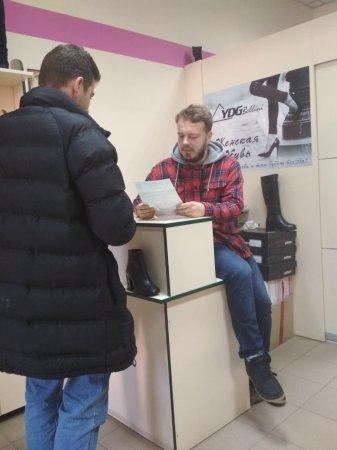 У Кам'янці інспектори Держпраці відвідали торгівельні точки, фото-4, Фото: Упраління Держпраці у Хмельницькій області