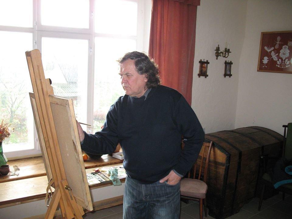З життя пішов відомий кам'янецький художник, фото-2, Фото:  Boris Negoda, Фейсбук