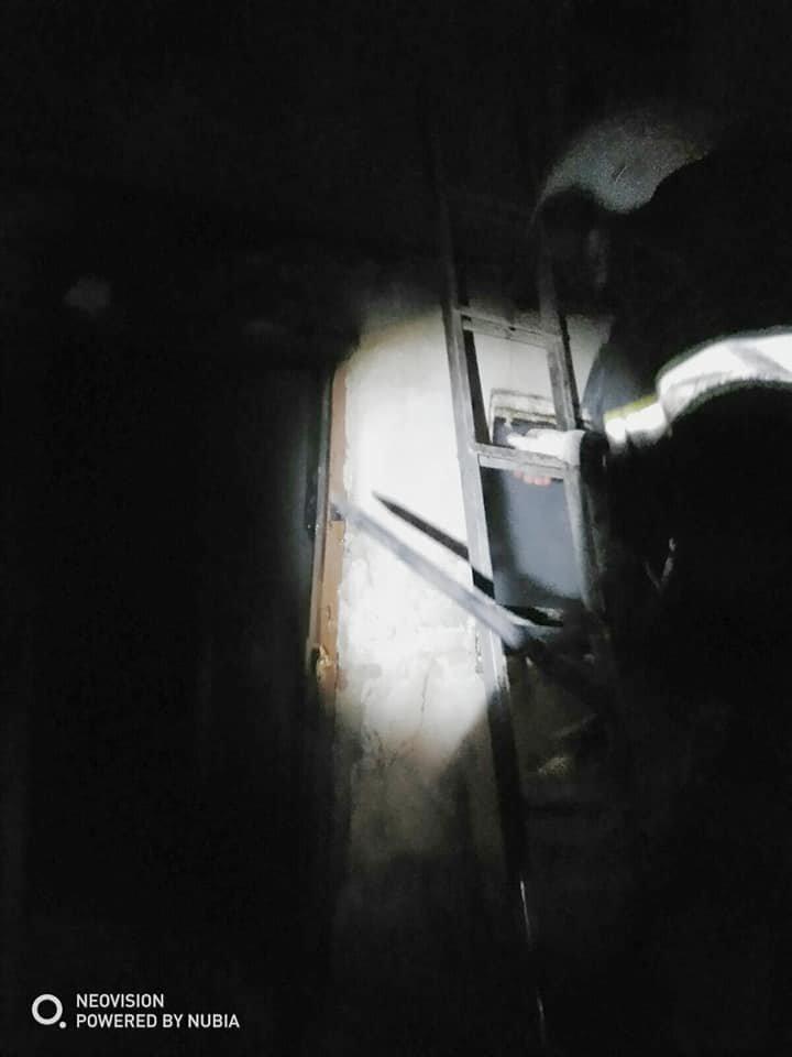 """На вулиці Данила Галицького знову горів житловий будинок, фото-1, Фото: """"Служба порятунку 101 Кам'янець-Подільський"""""""