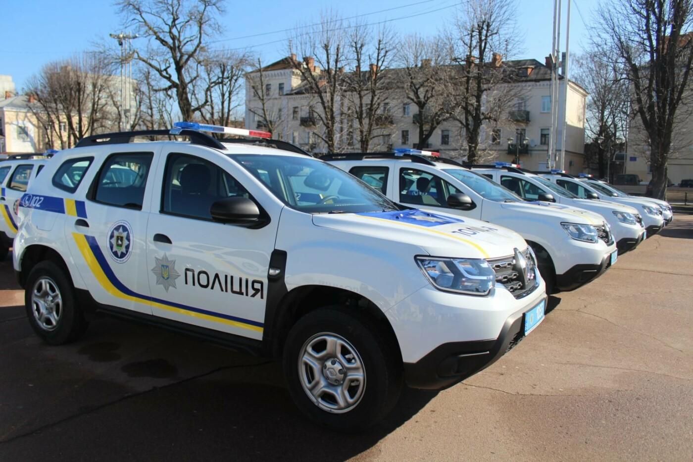 Поліцейські офіцери громади Кам'янеччини отримали службові автомобілі, фото-10, Фото: Хмельницька ОДА