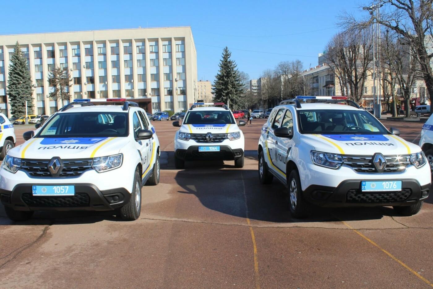 Поліцейські офіцери громади Кам'янеччини отримали службові автомобілі, фото-11, Фото: Хмельницька ОДА