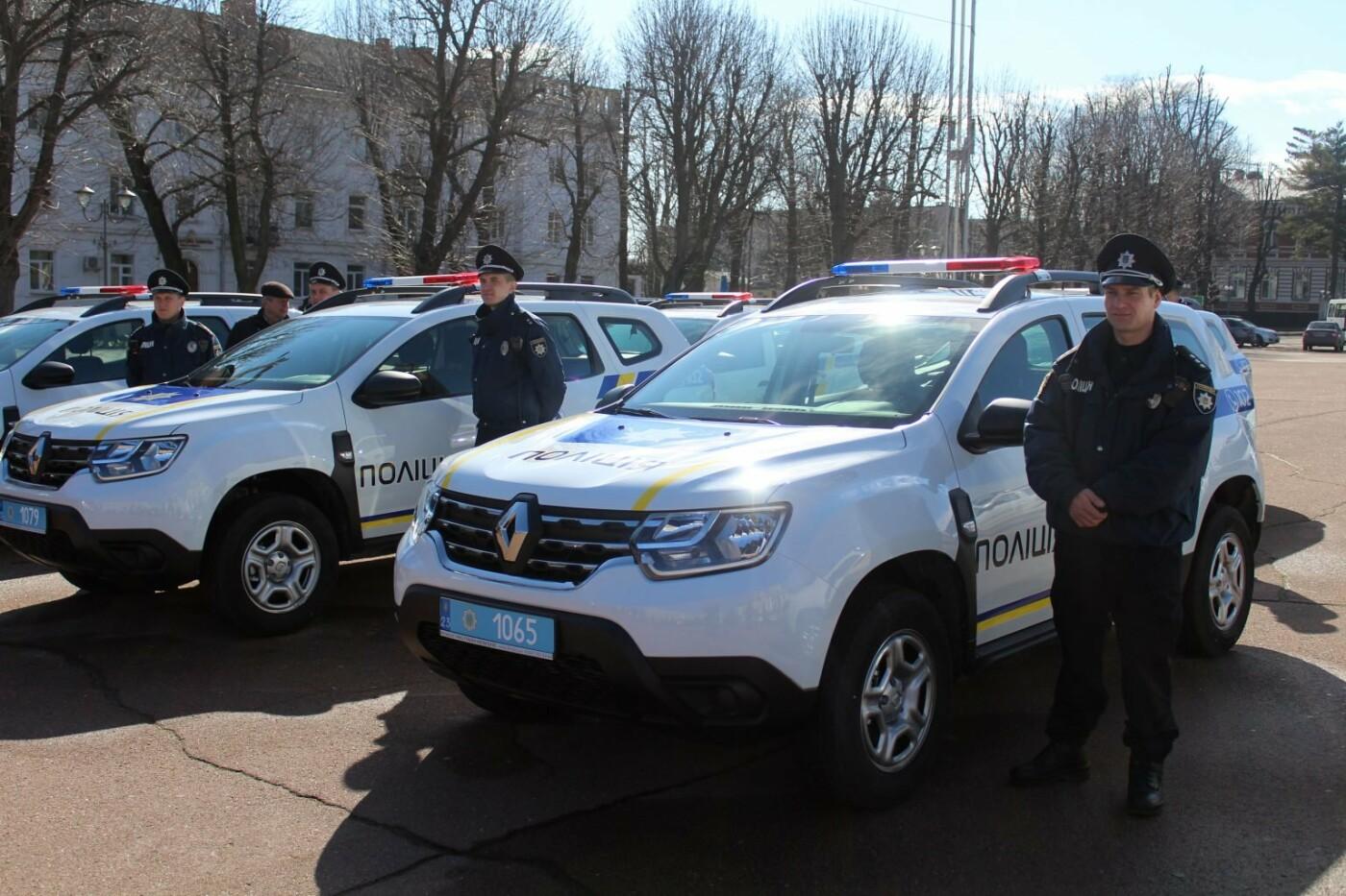 Поліцейські офіцери громади Кам'янеччини отримали службові автомобілі, фото-9, Фото: Хмельницька ОДА