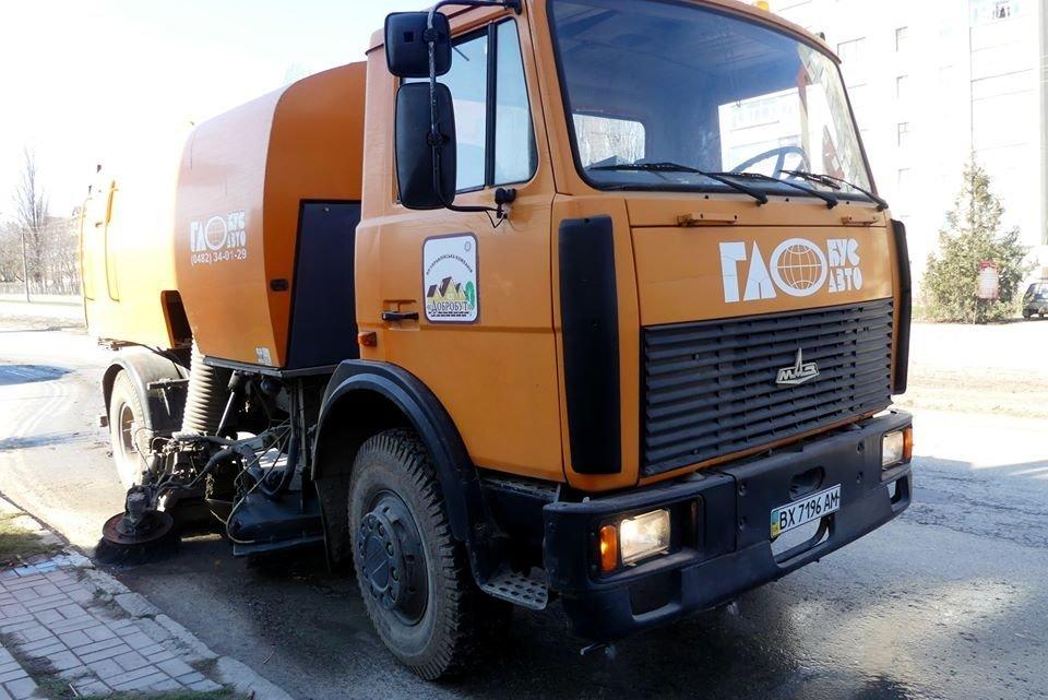 У Кам'янці-Подільському розпочато планове миття вулиць, фото-2, Фото: Кам'янець-Подільська міська рада
