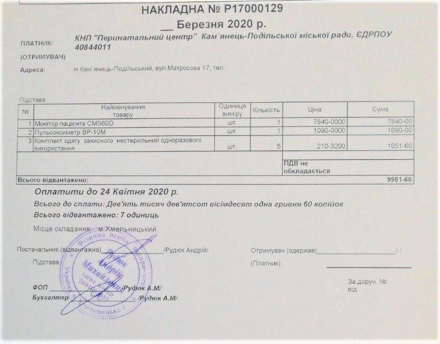 Кам'янець отримав 400 експрес-тестів на виявлення коронавірусу, фото-1, Фото: Кам'янець-Подільська міська рада