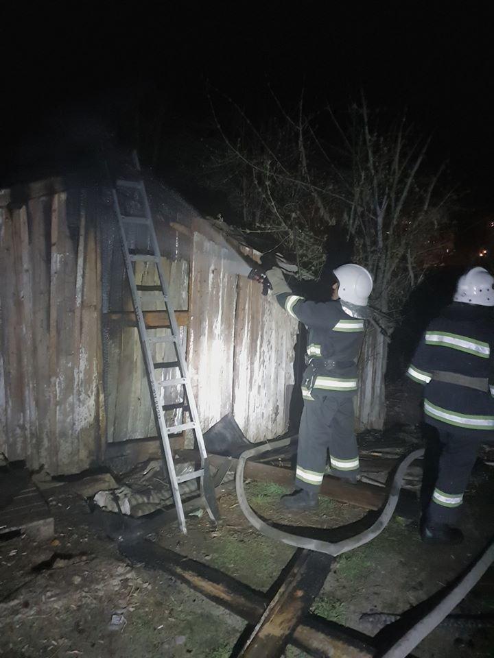 Кам'янецькі рятувальники ліквідували пожежу в приватній споруді, фото-1, Фото: ГУ ДСНС України у Хмельницькій області