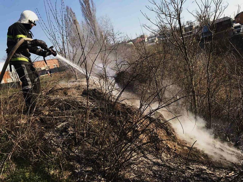 На Кам'янеччині рятувальники ліквідували загоряння сухої трави, фото-8, Фото: ГУ ДСНС України у Хмельницькій області
