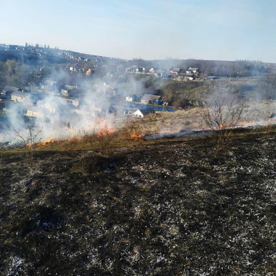 На Кам'янеччині рятувальники ліквідували загоряння сухої трави, фото-7, Фото: ГУ ДСНС України у Хмельницькій області