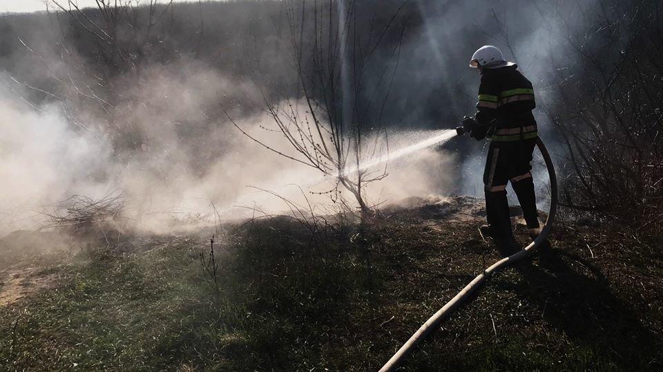 На Кам'янеччині рятувальники ліквідували загоряння сухої трави, фото-5, Фото: ГУ ДСНС України у Хмельницькій області