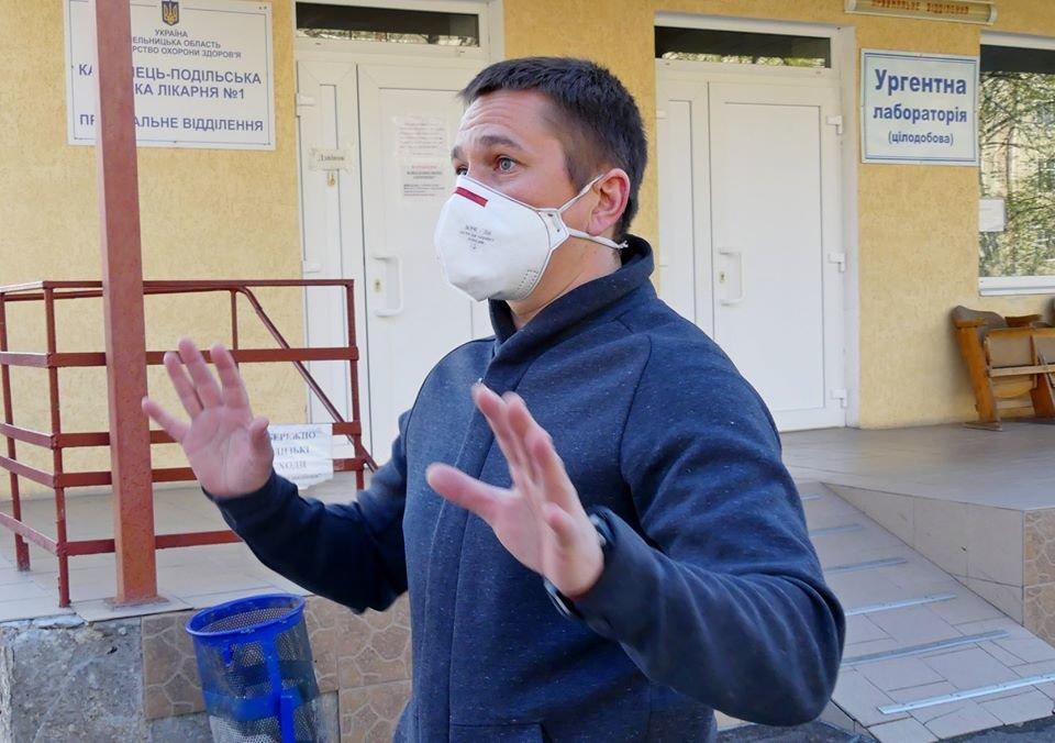Кам'янецький підприємець придбав парогенератор для дезінфекції вулиць міста, фото-3, Фото: Михайло Сімашкевич, Фейсбук
