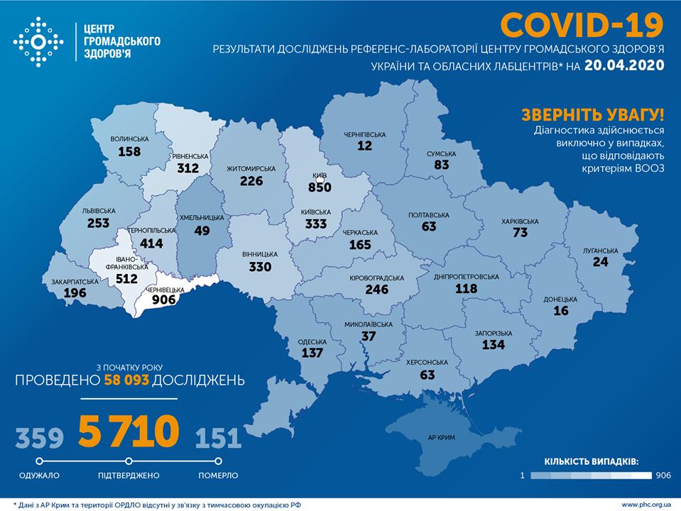 Ситуація із коронавірусною інфекцією у Кам'янці-Подільському станом на 20 квітня, фото-2