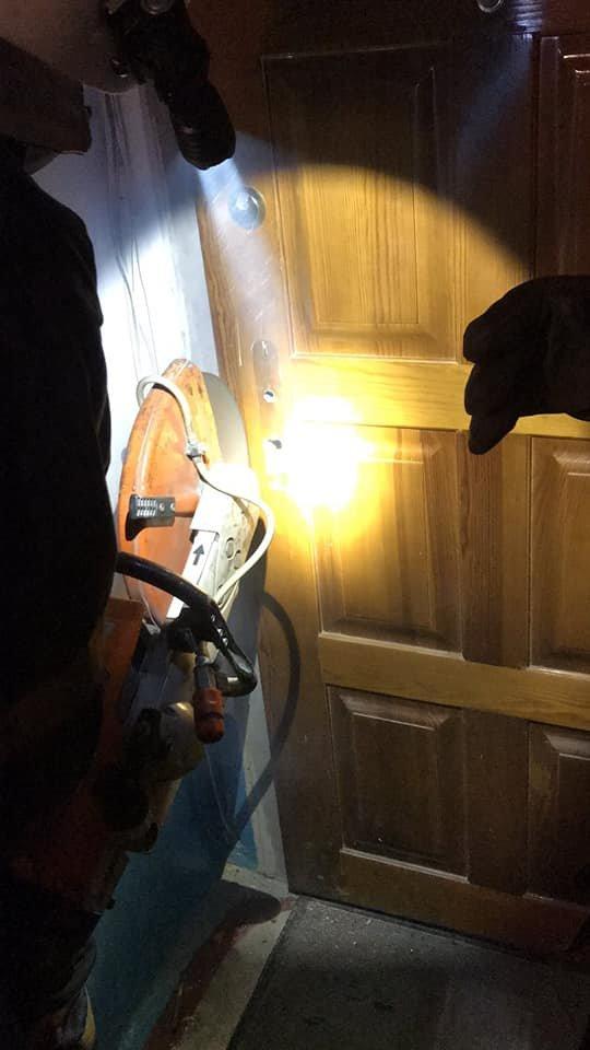 У Кам'янці рятувальники надали допомогу у відчиненні дверей, фото-2, Фото: ГУ ДСНС України у Хмельницькій області