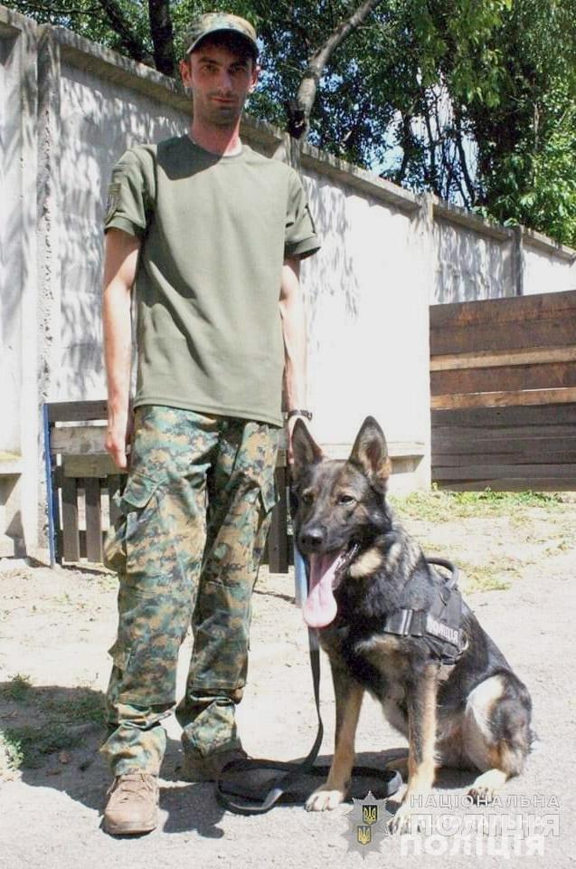 Вівчарка Кайна розкрила злочин у Кам'янець-Подільському районі, фото-1