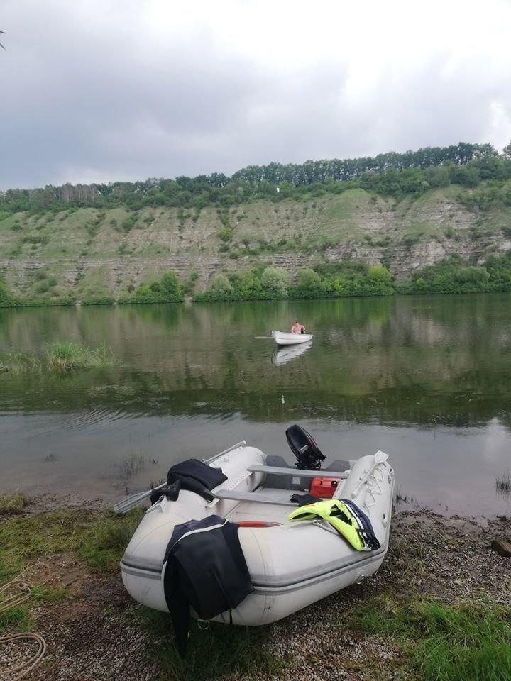 На Кам'янеччині вилучили з річки Смотрич тіло потопельника, фото-1, Фото: ГУ ДСНС в Хмельницькій області