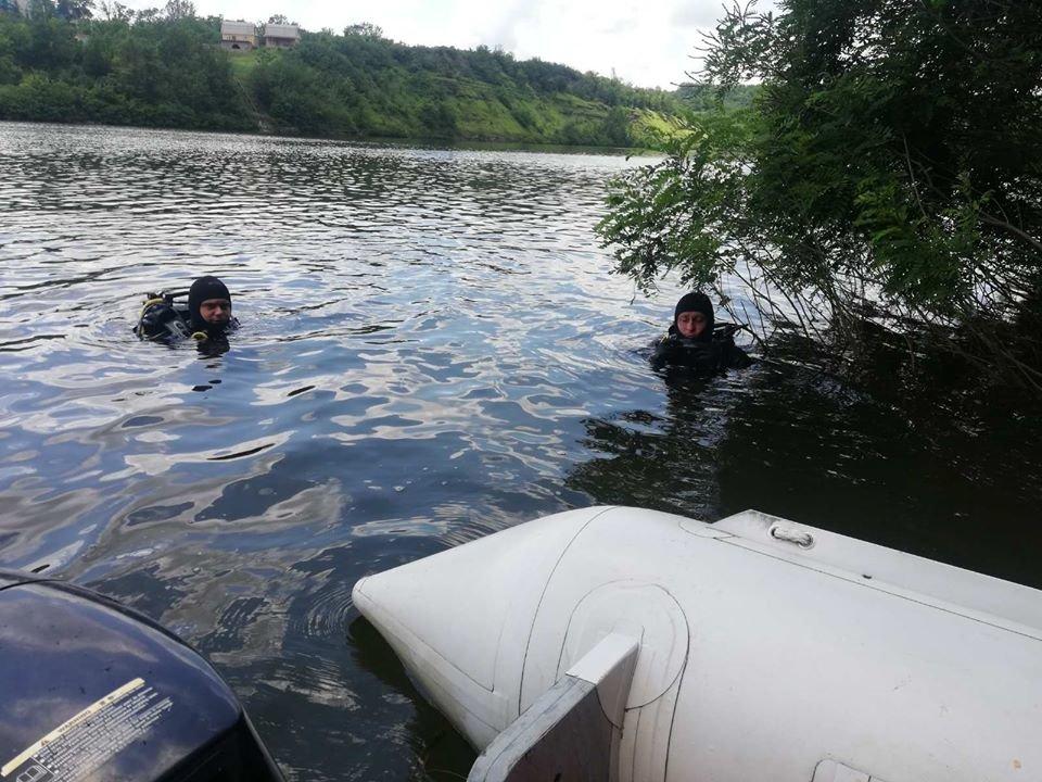 На Кам'янеччині вилучили з річки Смотрич тіло потопельника, фото-2, Фото: ГУ ДСНС в Хмельницькій області
