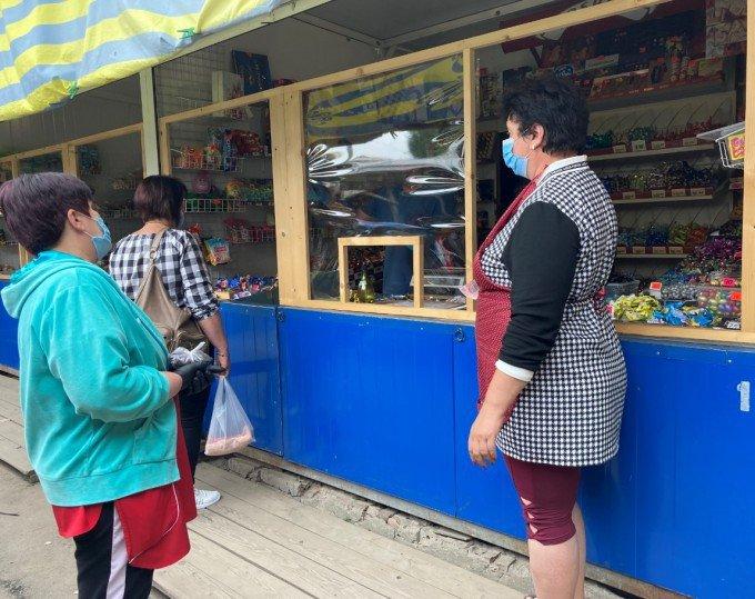 Кам'янецький ринок проінспектували на дотримання умов карантину, фото-1, Фото: ГУ Держпродспоживслужби в Хмельницькій області