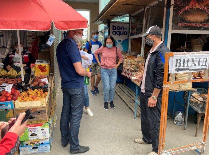 Кам'янецький ринок проінспектували на дотримання умов карантину, фото-2, Фото: ГУ Держпродспоживслужби в Хмельницькій області