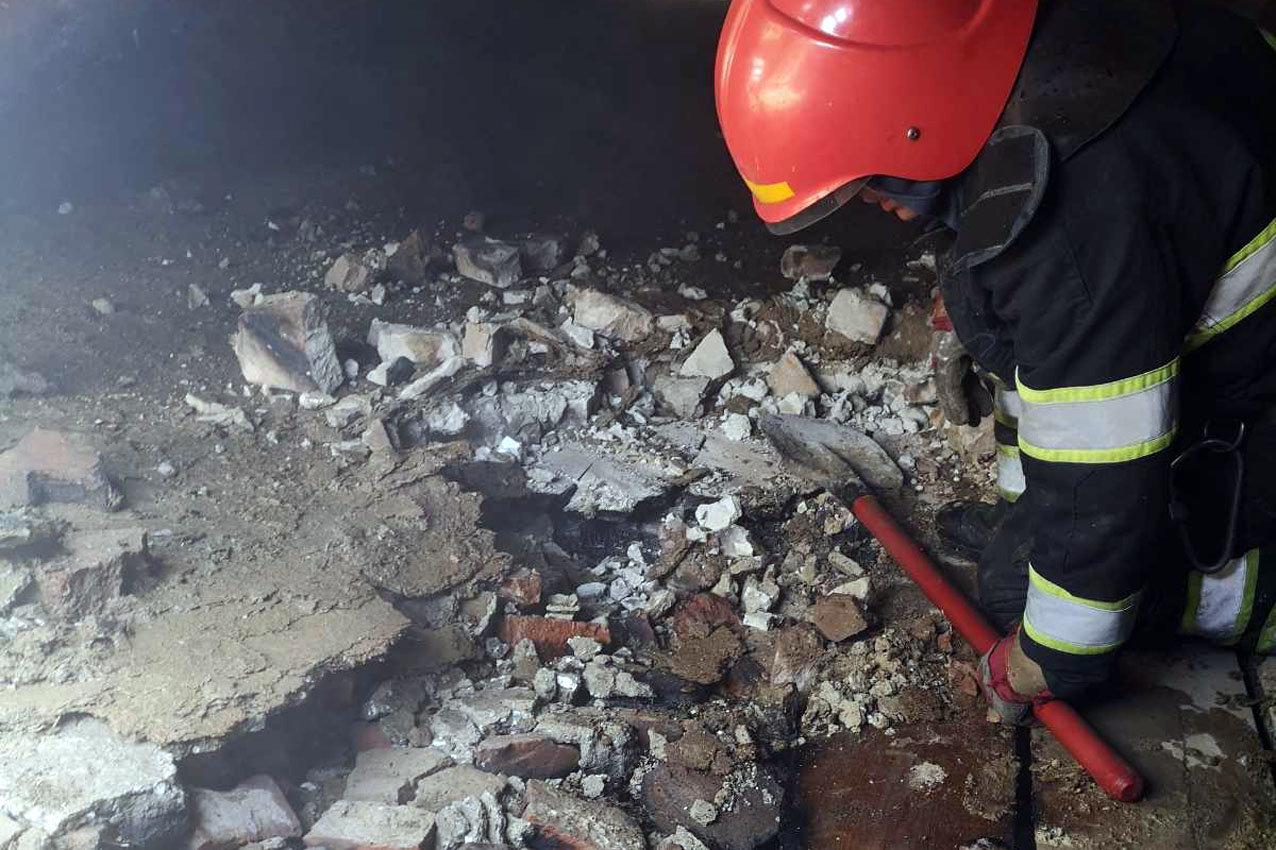 На Кам'янеччині ліквідували пожежу в дитячому садку, фото-1, Фото: ГУ ДСНС України у Хмельницькій області