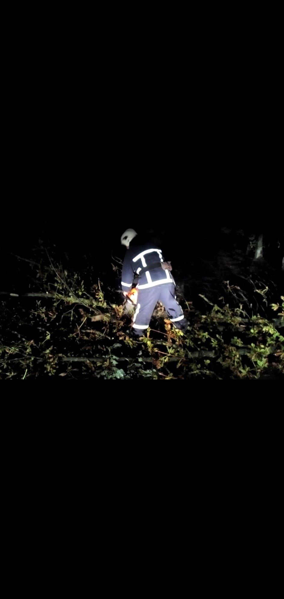 """На Кам'янеччині рятувальники ліквідовували наслідки негоди, фото-2, Фото: """"Служба порятунку 101 Кам'янець-Подільський"""""""