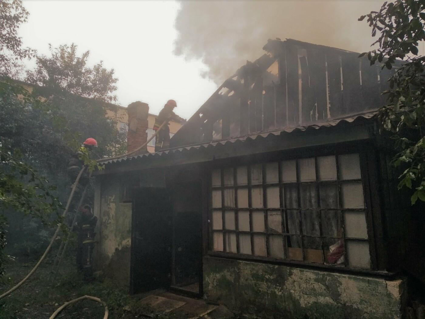 У Кам'янці-Подільському ліквідовували пожежу в приватному секторі, фото-3, Фото: ГУ ДСНС України у Хмельницькій області
