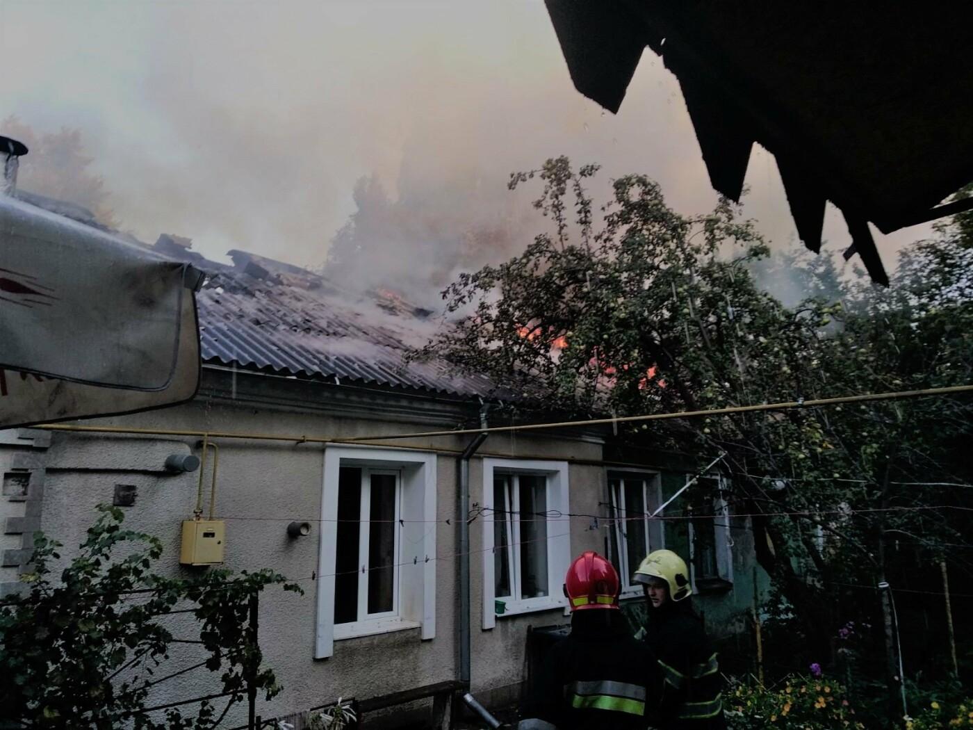У Кам'янці-Подільському ліквідовували пожежу в приватному секторі, фото-4, Фото: ГУ ДСНС України у Хмельницькій області