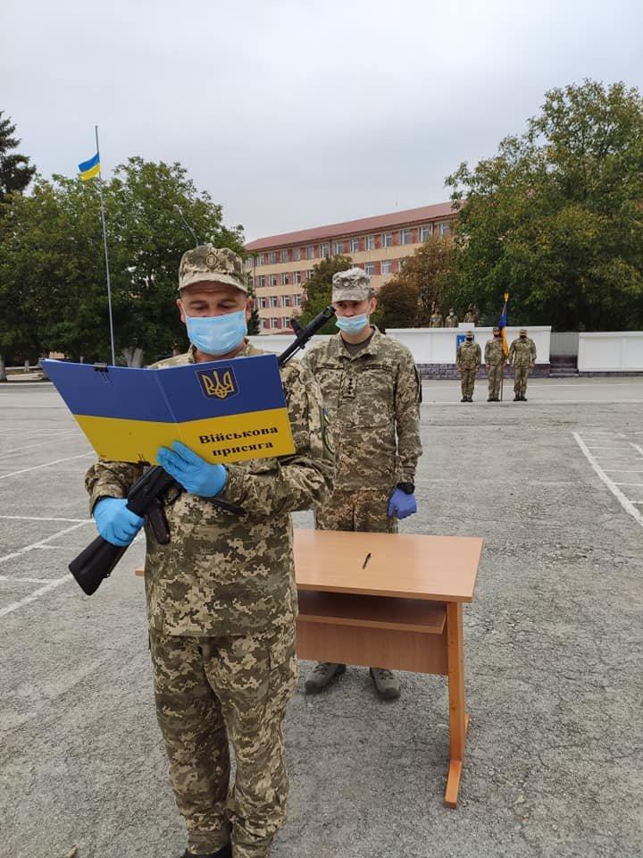 У Кам'янці-Подільському 16 військових контрактників склали присягу, фото-3, Фото: 201 Навчальний Центр