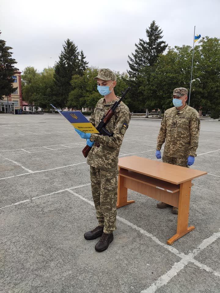 У Кам'янці-Подільському 16 військових контрактників склали присягу, фото-6, Фото: 201 Навчальний Центр