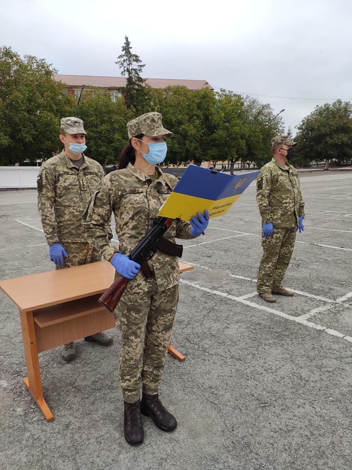 У Кам'янці-Подільському 16 військових контрактників склали присягу, фото-7, Фото: 201 Навчальний Центр