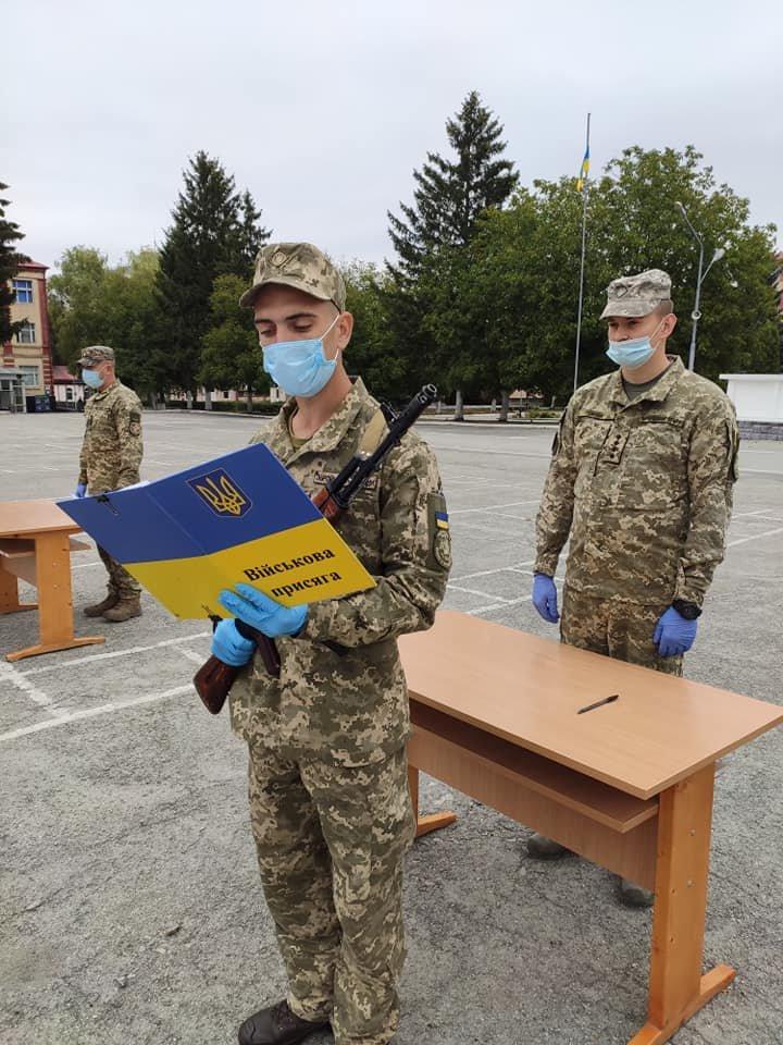 У Кам'янці-Подільському 16 військових контрактників склали присягу, фото-8, Фото: 201 Навчальний Центр