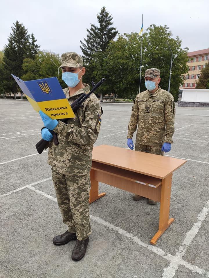 У Кам'янці-Подільському 16 військових контрактників склали присягу, фото-9, Фото: 201 Навчальний Центр