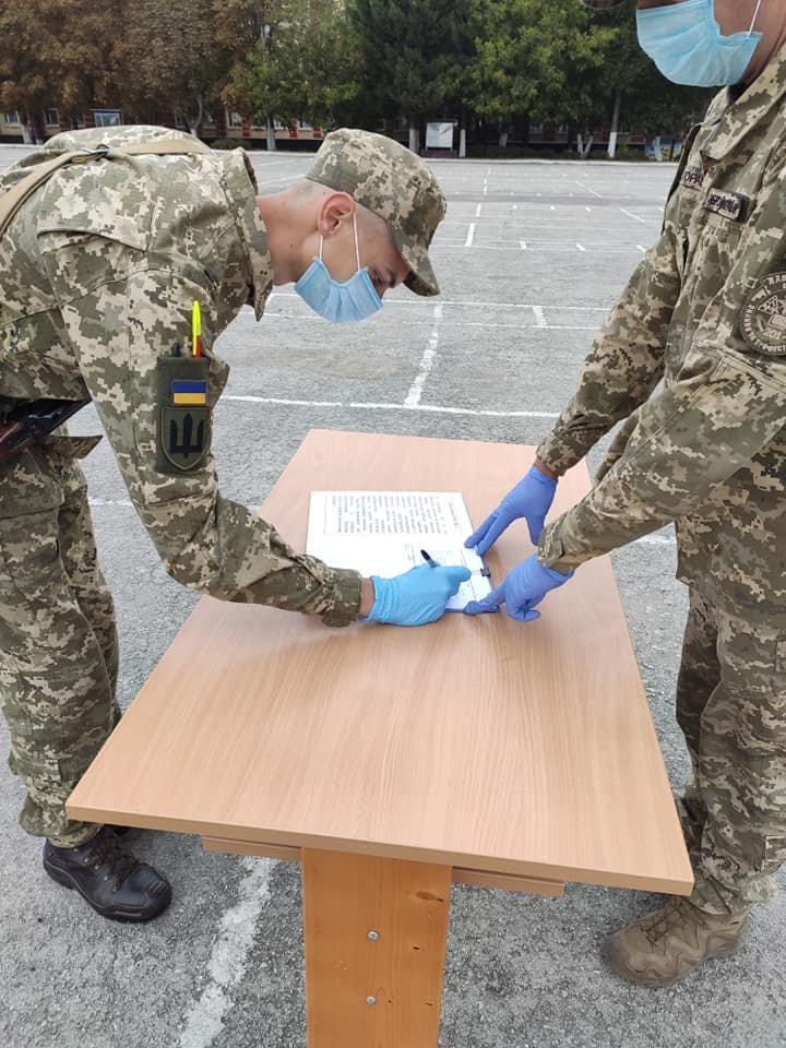 У Кам'янці-Подільському 16 військових контрактників склали присягу, фото-10, Фото: 201 Навчальний Центр