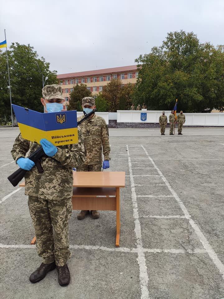 У Кам'янці-Подільському 16 військових контрактників склали присягу, фото-11, Фото: 201 Навчальний Центр