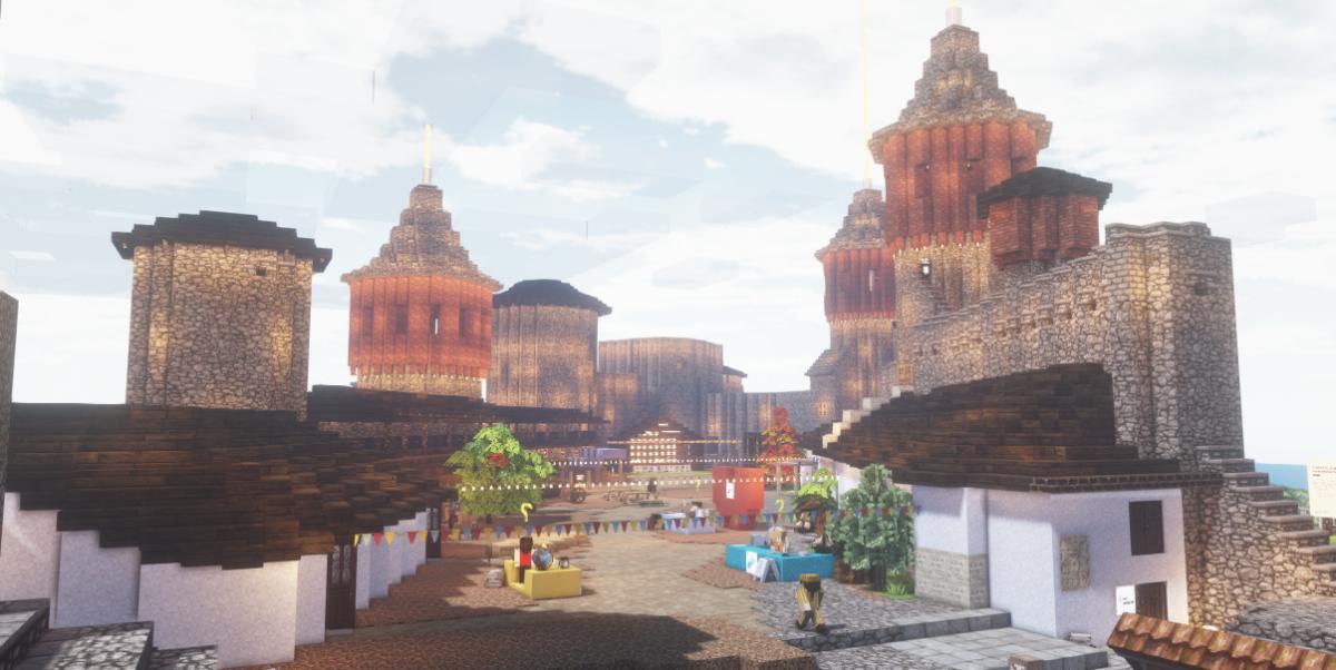 """У комп'ютерній грі """"Minecraft"""" відтворили Кам'янець-Подільську фортецю, фото-1"""
