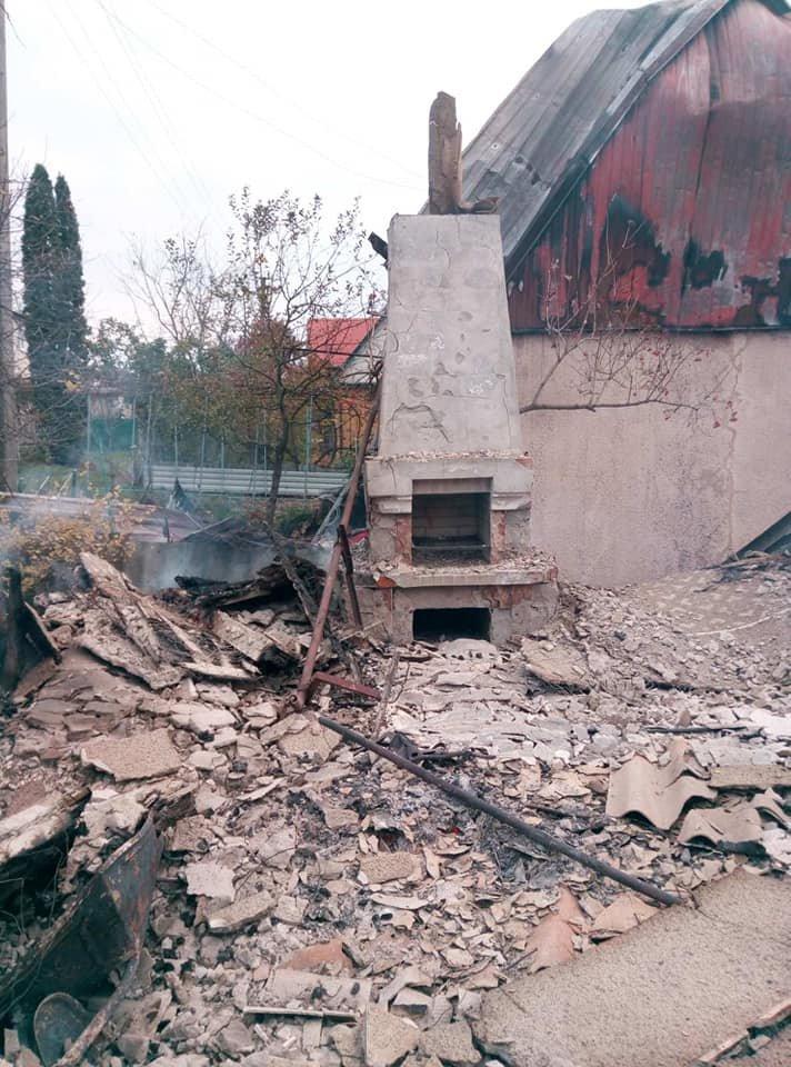 Пожежа в селі Ісаківці, Фото: ГУ ДСНС України у Хмельницькій області