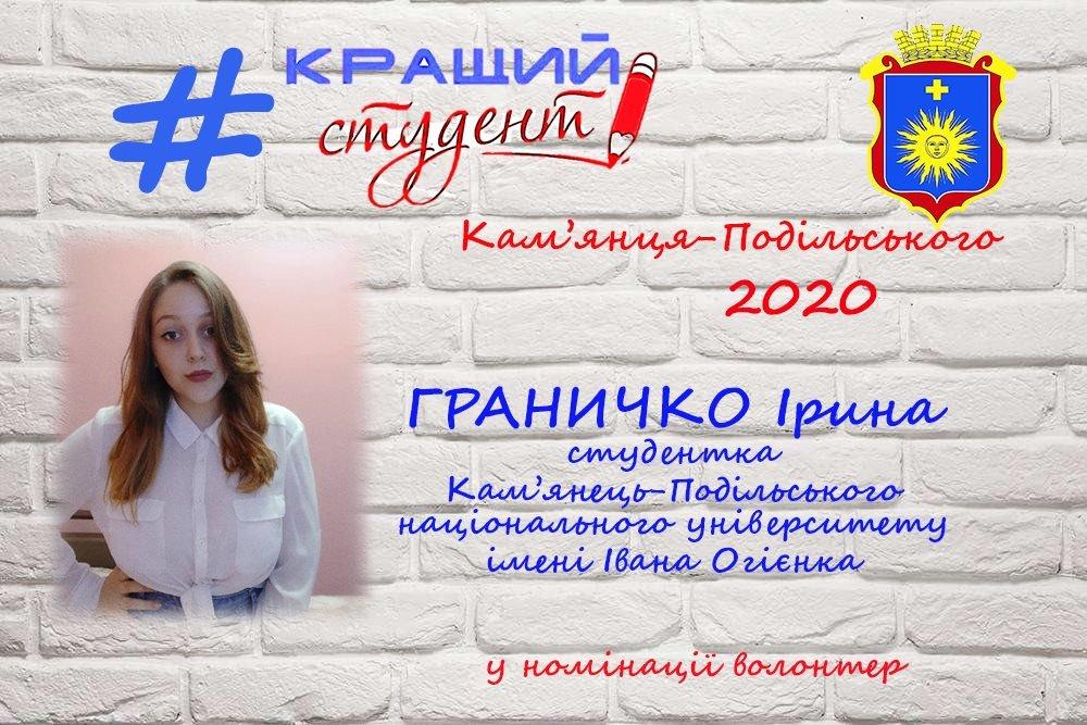 """Стали відомі переможці конкурсу """"Кращий студент міста Кам'янця-Подільського-2020"""", фото-4"""