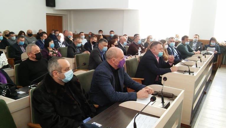 Перше засідання сесії районної ради VIII скликання, Фото: Кам'янець-Подільська РДА